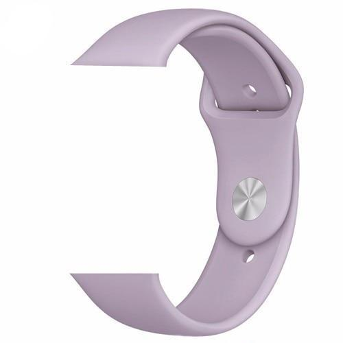 Purple Silicone Apple Watch Band