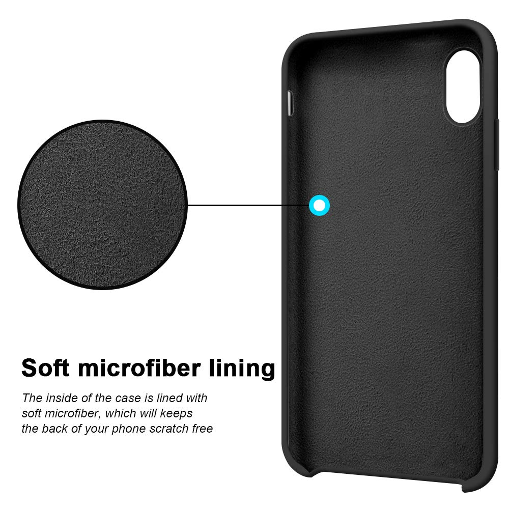 finest selection ea36e 0a86f Original Silicone Case For iPhone X/XS/XR/XS MAX
