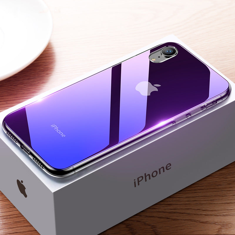 Gradient Glass Ultra Thin Case for iphone X/XS/XR/XS MAX