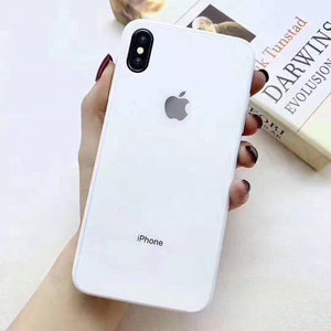All-inclusive Anti-drop Primary Color iPhone Original Material Phone Case For iPhone 7/8/7Plus/8Plus