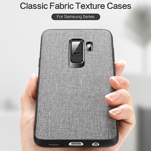 Samsung S9/S9 Plus Fabric Leather Case