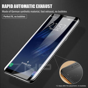 Super Smooth Film 360 Full Coverage Screen Protector for SamsungTempered Glass For Samsung S7Edge/Note8/Note9/S8/S8+/S9/S9+/A8/A8+