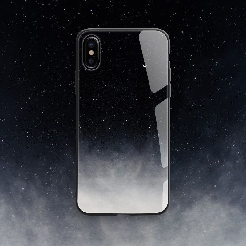 Star Glass Phone Case For iPhone X/XS/XR/XS MAX