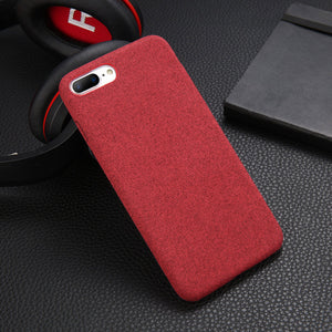 Fabric Phone Case For iphone X/XR/XS MAX