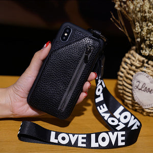 2019 Latest Mobile Phone Case Leather Wallet For iPhone X/XS/XR/XS MAX