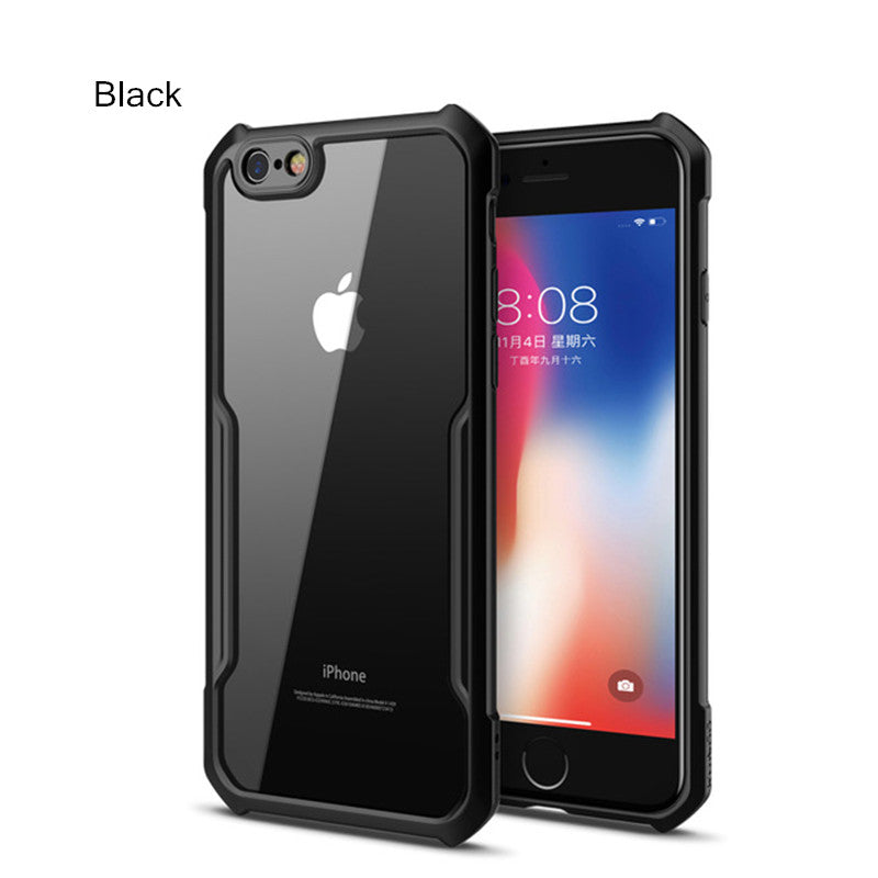 Shockproof Airbag Transparent Phone Case for iPhone 7/8/7Plus/8 Plus
