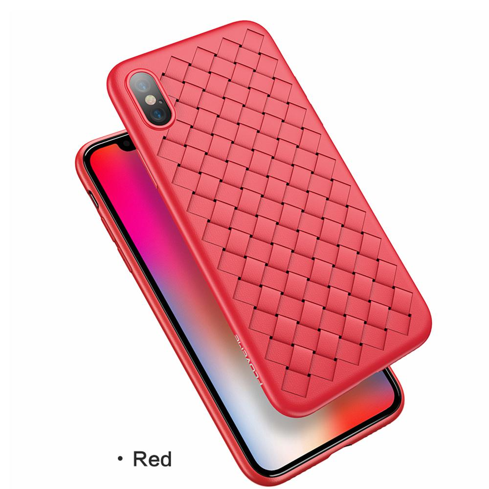 Luxury Leather Grain Breathable Cooling Mobile Phone Case Ultra-Thin Case For iPhone X/XS/XR/XS MAX