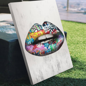 Graffiti Lips