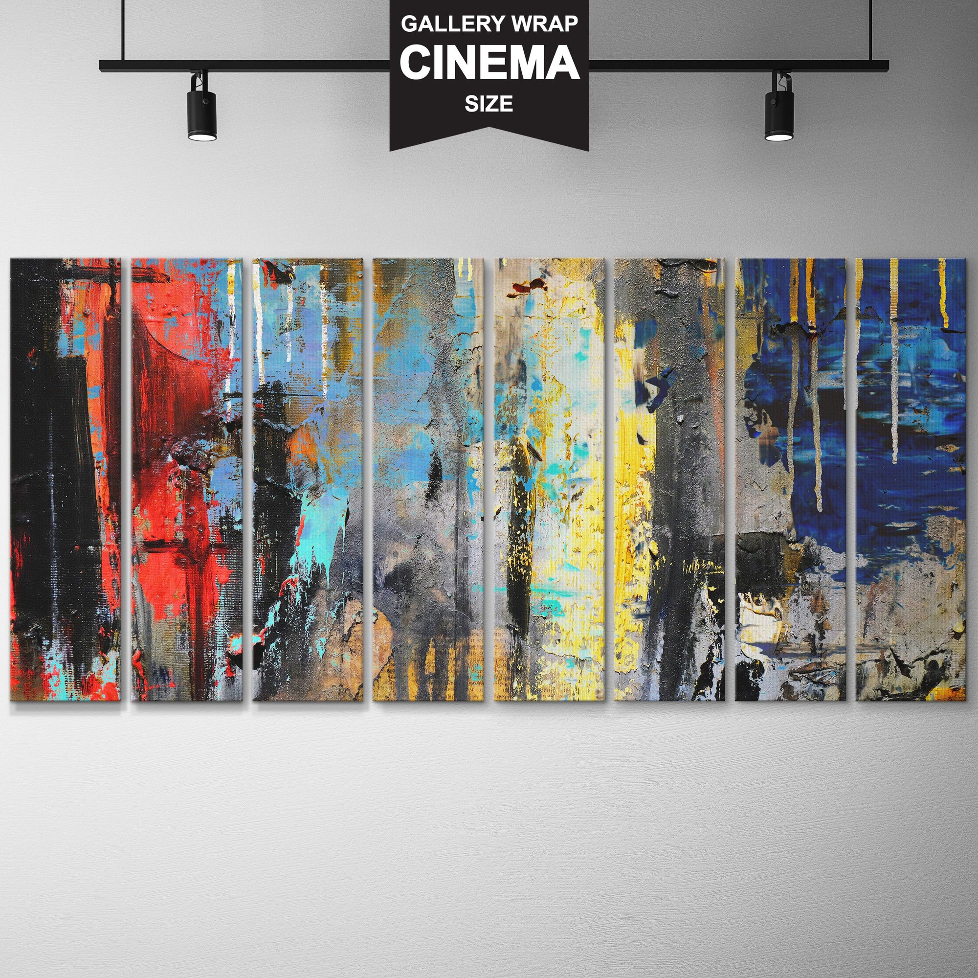 ABSTRACT COLOR POP CINEMA