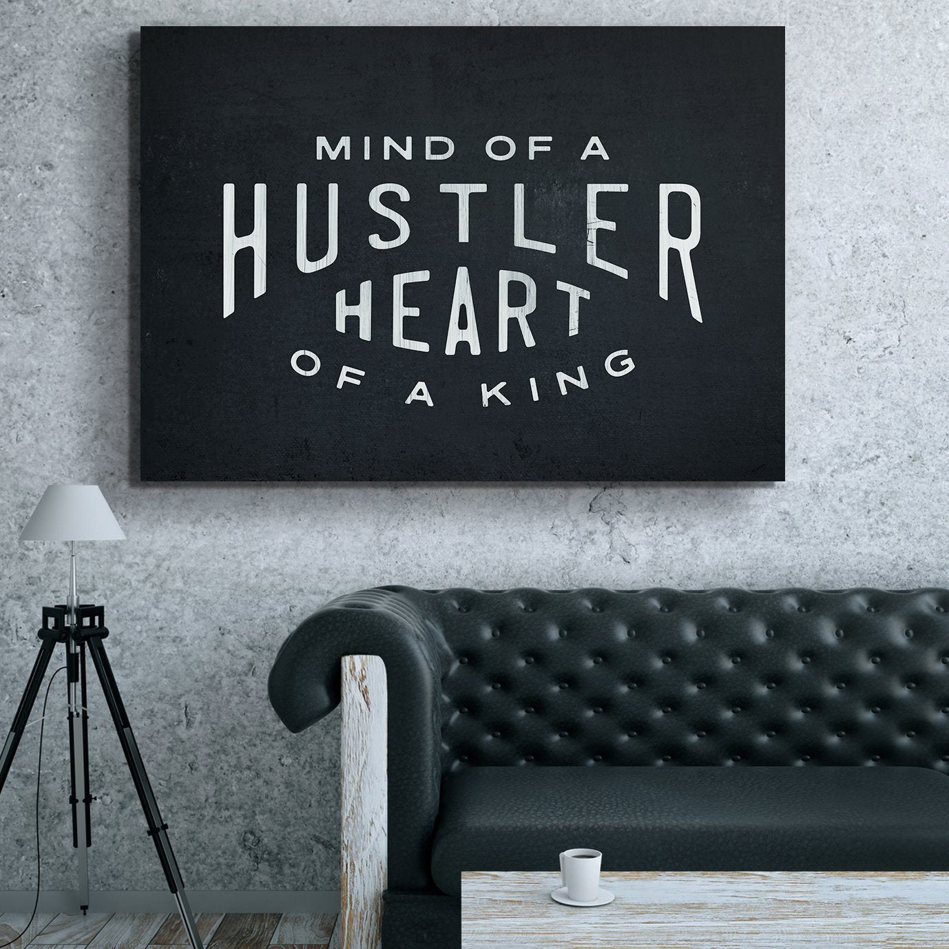 MIND OF A HUSTLER. HEART OF A KING.