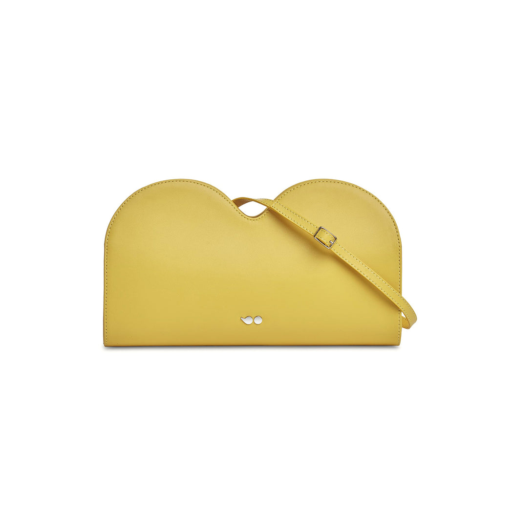 BIRBA - CLUTCH - YELLOW