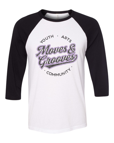 Moves and Grooves Baseball Tee