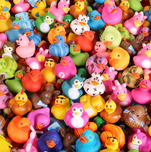Rubber Duck Toy (Assorted Design)