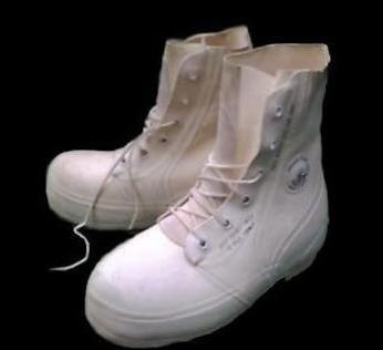 White Mickey Mouse Boots | Military
