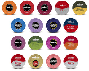 Lavazza Modo Mio Pods Collections
