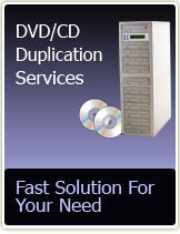 DVD DUPLICATION with Full Color Overlay