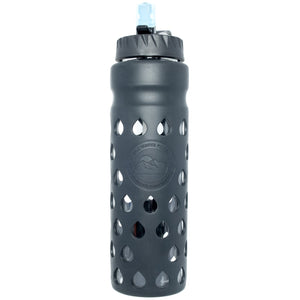 The Escape | Glass Water Bottle with Filter 900ml