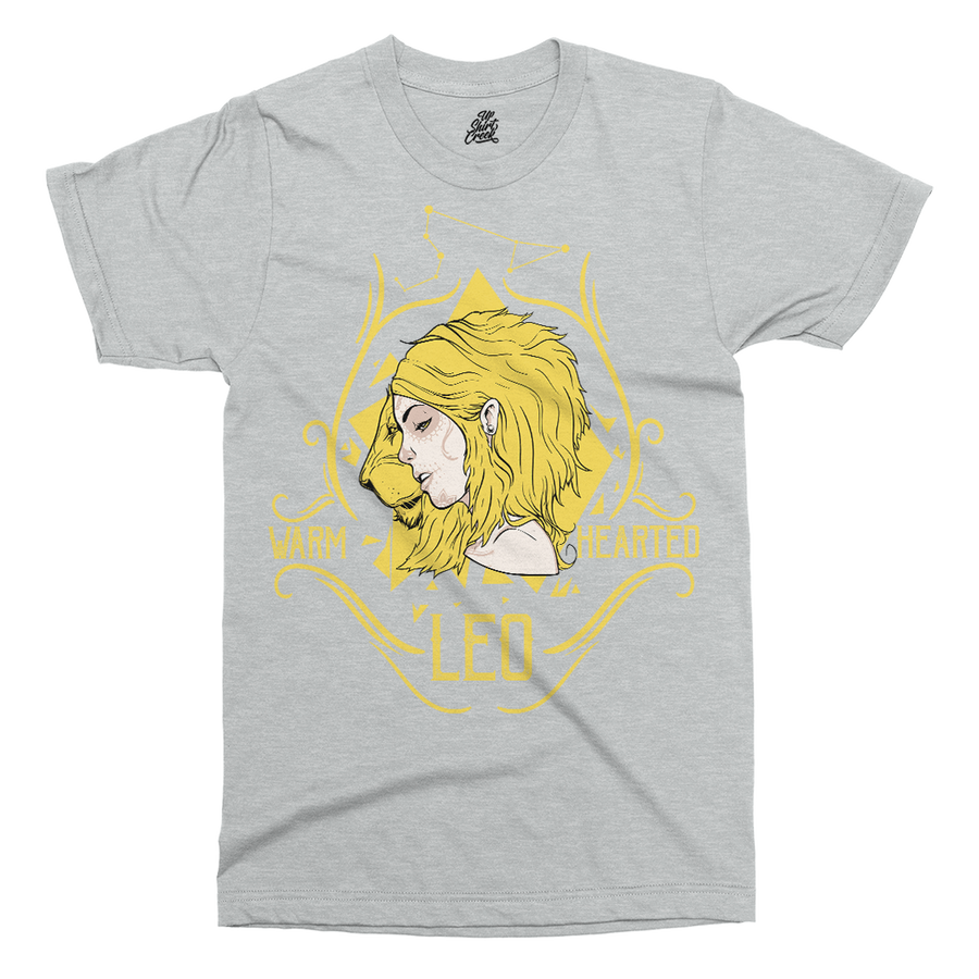 Star Sign Leo Printed T-Shirt - UpShirtCreek