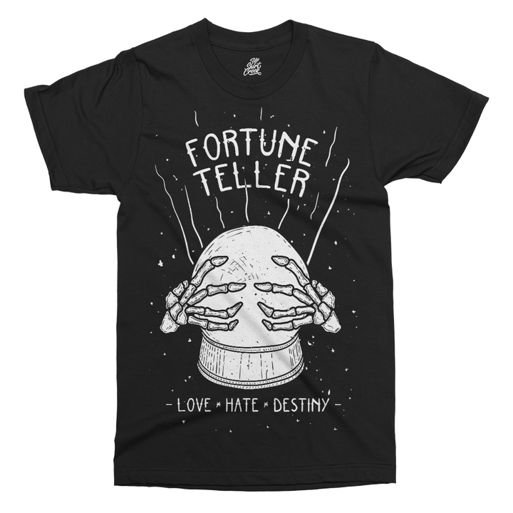 Fortune Teller Printed T-Shirt