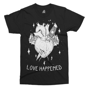 Love Happened Printed T-Shirt