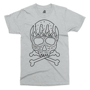 Abbey Skull Printed T-Shirt - UpShirtCreek
