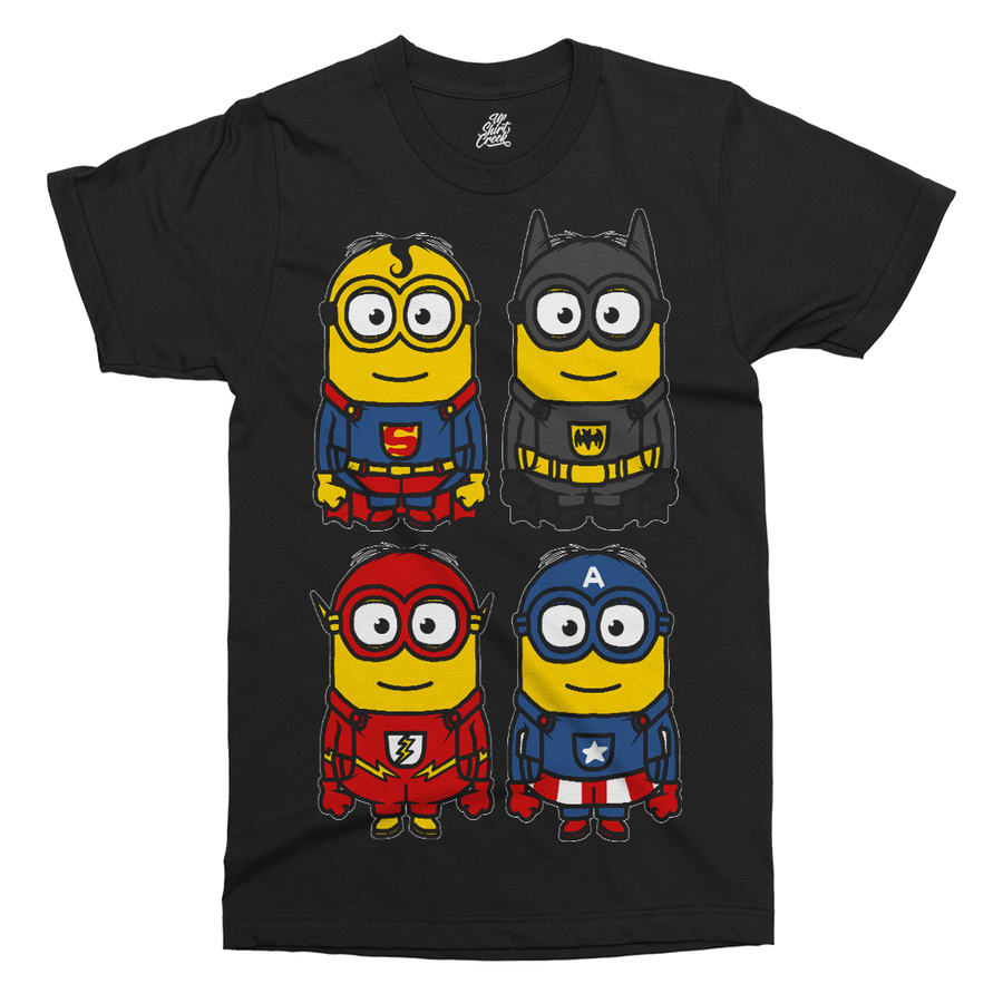 Super Minions Printed T-Shirt - UpShirtCreek