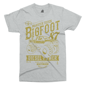 Big Foot Printed T-Shirt - UpShirtCreek