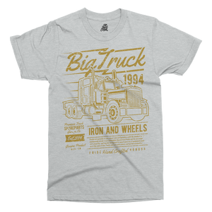 Big Truck Printed T-Shirt - UpShirtCreek