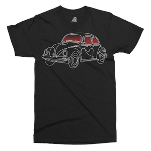 Beetle Printed T-Shirt - UpShirtCreek