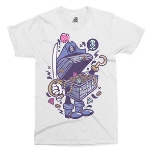 Treasure Chest Printed T-Shirt - UpShirtCreek