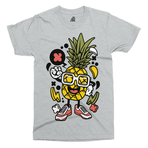 Pineapple Printed T-Shirt - UpShirtCreek