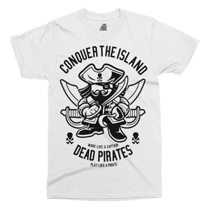 Pirates Printed T-Shirt - UpShirtCreek