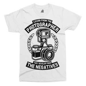 Photographer Printed T-Shirt - UpShirtCreek