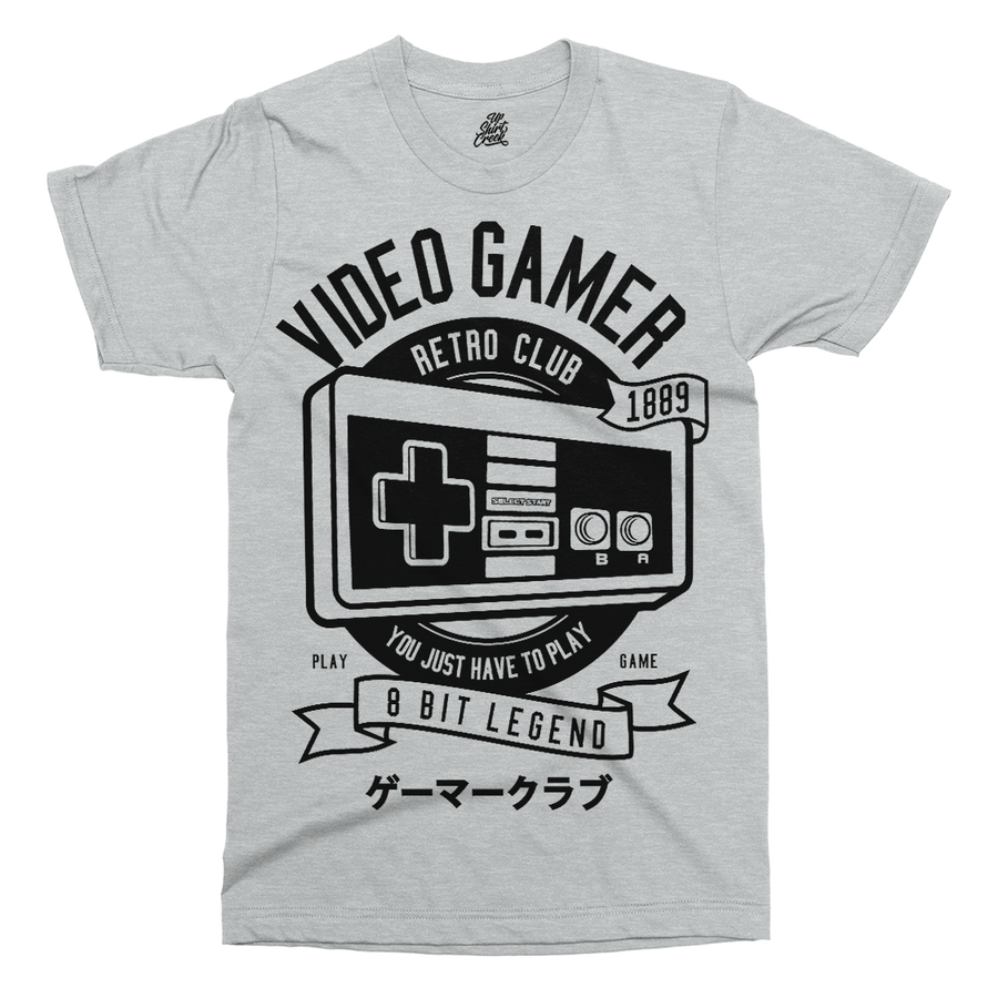 Video Gamer Printed T-Shirt - UpShirtCreek