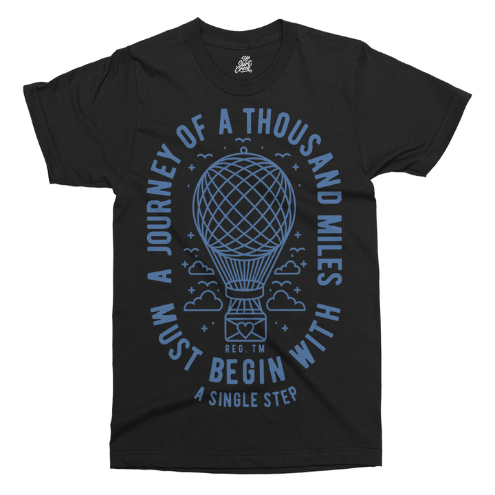 A Journey Printed T-Shirt