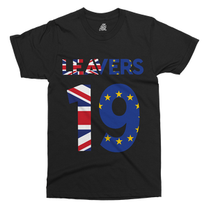 Brexit Leavers Printed T-Shirt - UpShirtCreek