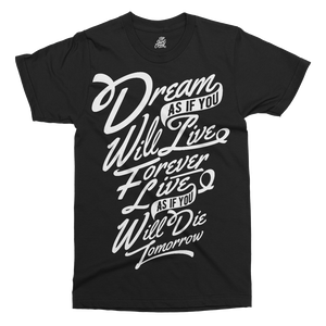 Dream Printed T-Shirt - UpShirtCreek