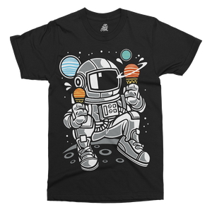 Astronaut Ice Cream Printed T-Shirt