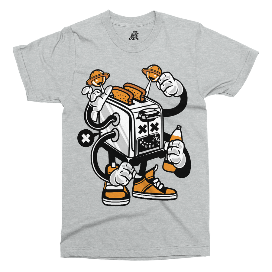 Toaster Monster Printed T-Shirt - UpShirtCreek