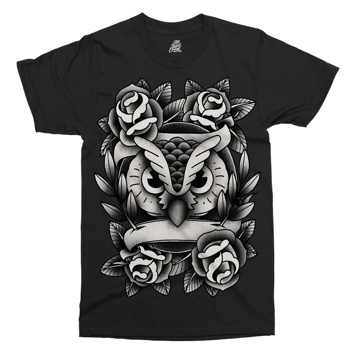 Owl Love Printed T-Shirt