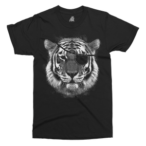 Tiger Pirate Printed T-Shirt
