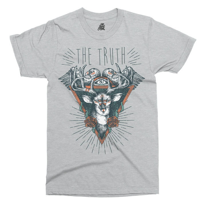 The Deer Printed T-Shirt - UpShirtCreek