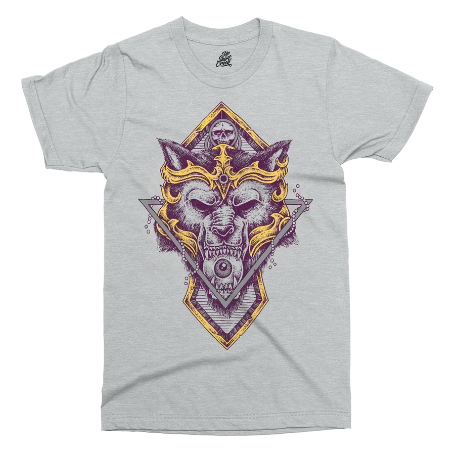 Wolf Warrior Printed T-Shirt - UpShirtCreek