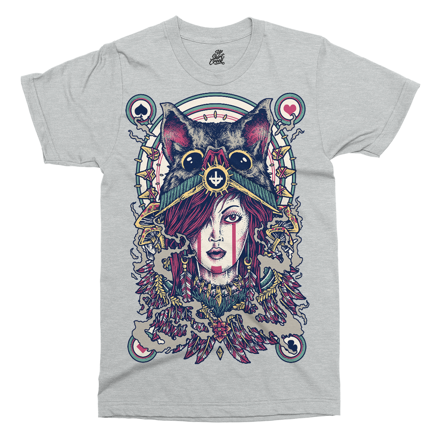 Dark Queen Printed T-Shirt - UpShirtCreek