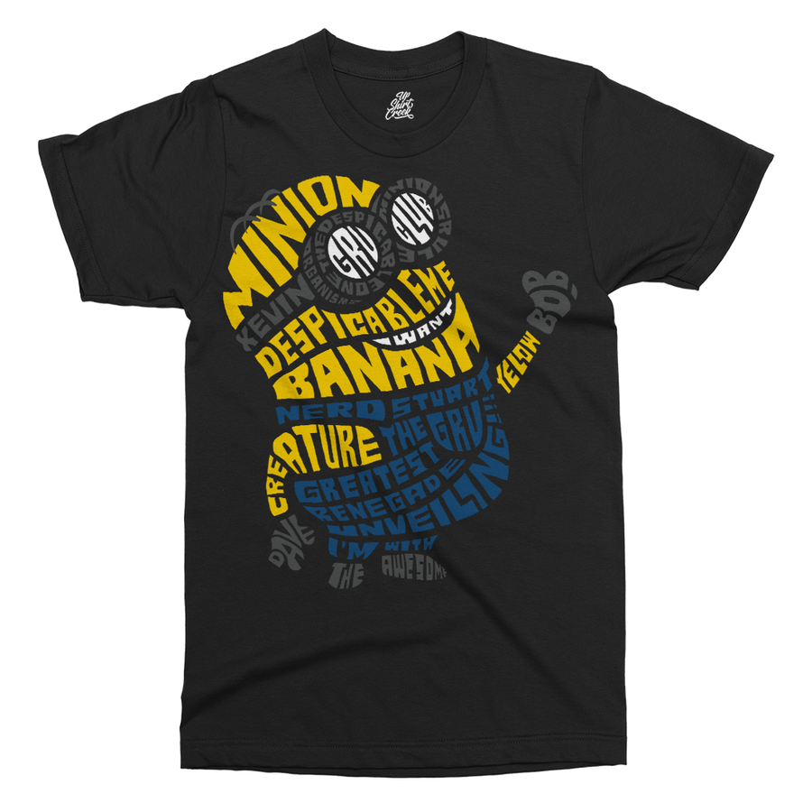 Minion Printed T-Shirt - UpShirtCreek