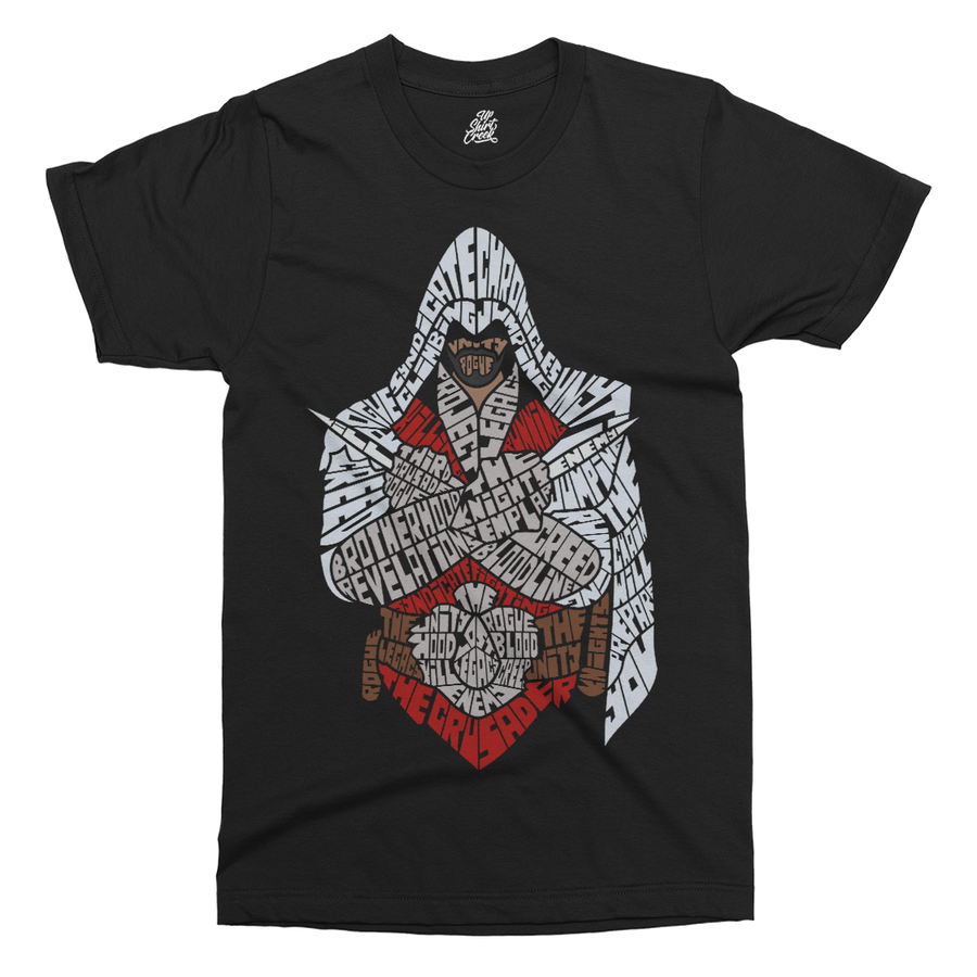 Assassins Printed T-Shirt - UpShirtCreek