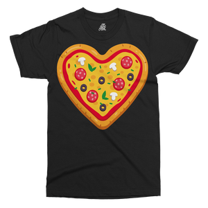 Pizza Love Printed T-Shirt
