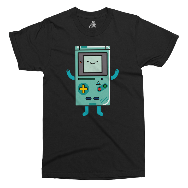 BMO Gameboy Printed T-Shirt - UpShirtCreek