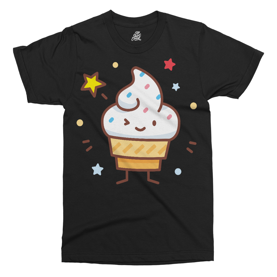 Ice Cream Printed T-Shirt - UpShirtCreek