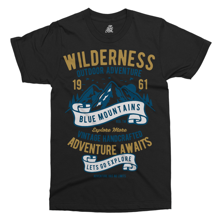 Wilderness Printed T-Shirt - UpShirtCreek